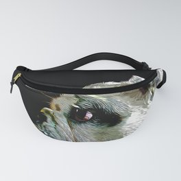 english bulldog dog vector art Fanny Pack