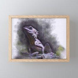 Forest Dragon Framed Mini Art Print