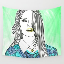 Stay Real Wall Tapestry