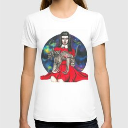 Te sphynx galaxy Queen T-shirt