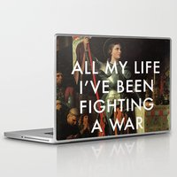 lorde Laptop & iPad Skins featuring Joan's Bravado by Lorde Art History