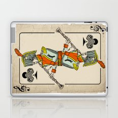 musical poker / Baroque oboe Laptop & iPad Skin