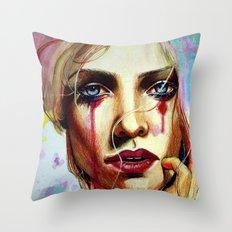 Scarlet (VIDEO IN DESCRIPTION!) Throw Pillow