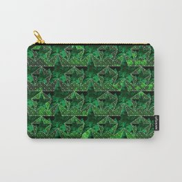 Stars V0 GREEN Carry-All Pouch