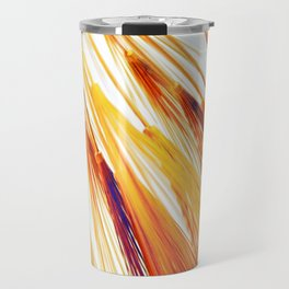 Autumn Wheat Burst Travel Mug