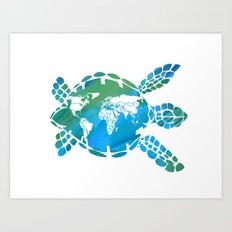 Mother Earth II Art Print