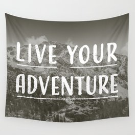 Live Your Adventure Wall Tapestry