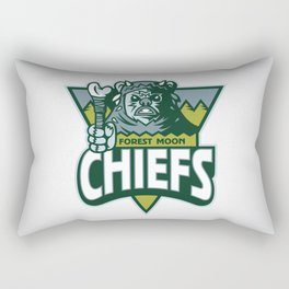 Forest Moon Chiefs Rectangular Pillow