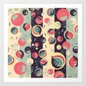 50's floral pattern II by vessdsign