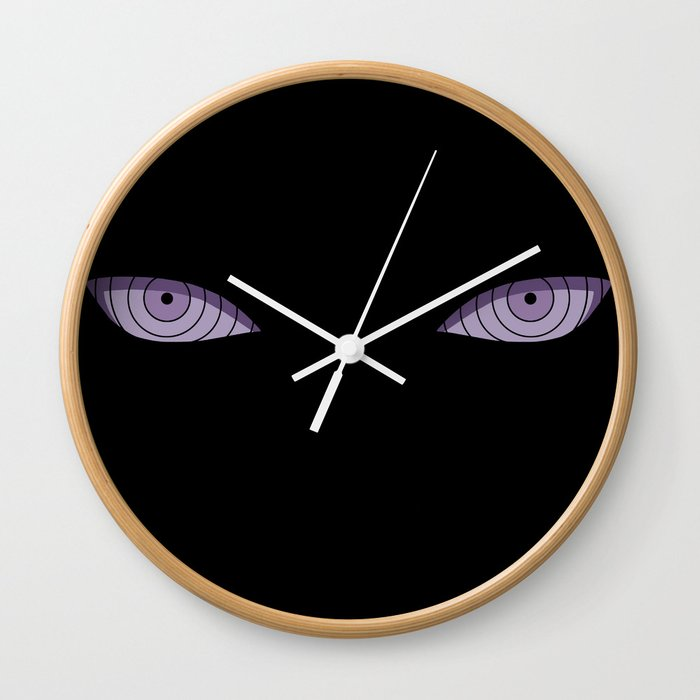 Eyes of Six Paths Wall Clock