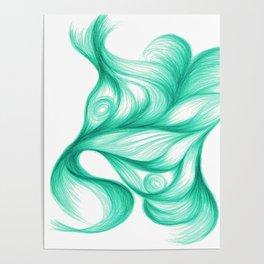 Azurite Singularis Poster