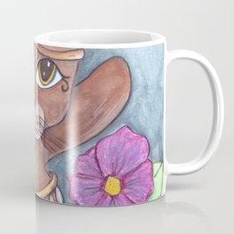 Absynian Cat Art Coffee Mug