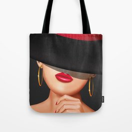 The Lady from the racecourse Tote Bag