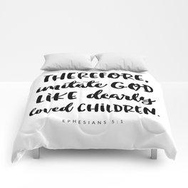 Ephesians 5:1 - Bible Verse Comforters