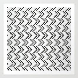 Black Arrow Tribal Canvas #society6 #decor #buyart #artprint Art Print