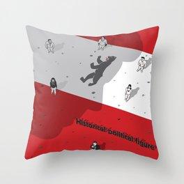 Historical Political Figure Throw Pillow