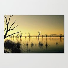 The Golden Lake Canvas Print