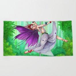 Pole Creatures - Fairy Beach Towel