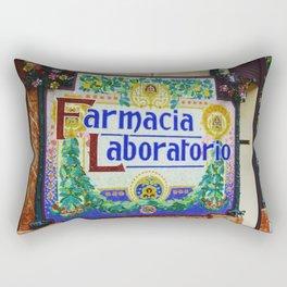 Farmacia Laboratorio Rectangular Pillow