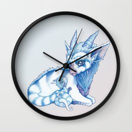 Nuzzle Wall Clock
