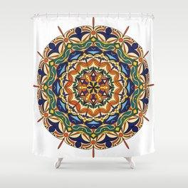 Colorful mandala Shower Curtain