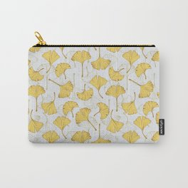 Ginkgo Pattern Carry-All Pouch
