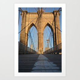 Brooklyn Bridge 1 Art Print