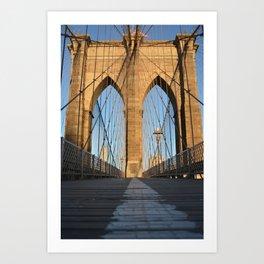 Brooklyn Bridge 1 Art Print