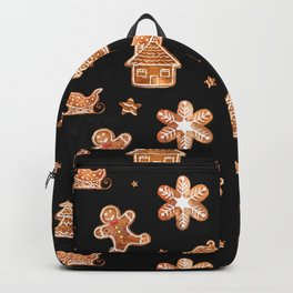 Gingerbread Cookies in Dark Backpack