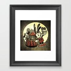 Lucky Clara Oswald Framed Art Print