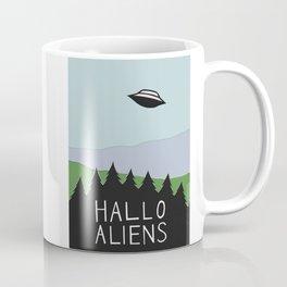 Hallo Aliens Coffee Mug