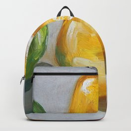 Fruits, apples and pear Backpack