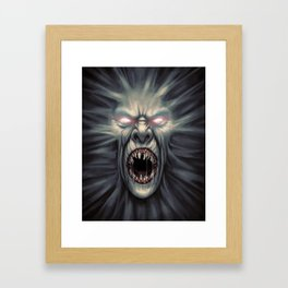 Coming For You Framed Art Print
