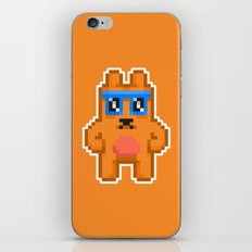 8Bit RaveBear iPhone & iPod Skin