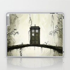Tardis in the forest Laptop & iPad Skin