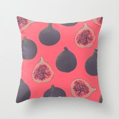 Fig pattern Throw Pillow