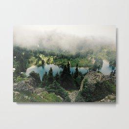 Rainier Eunice Lake Metal Print
