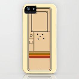 Breaking Bad (Broken Door) iPhone Case