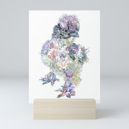 Silkie Chicken - Kona Mini Art Print
