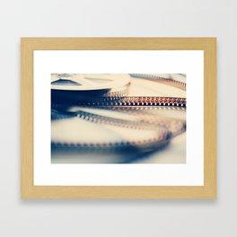 super 8 film II Framed Art Print