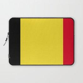 Belgium flag emblem Laptop Sleeve