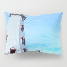Panmure Island Lighthouse and Boat Pillow Sham
