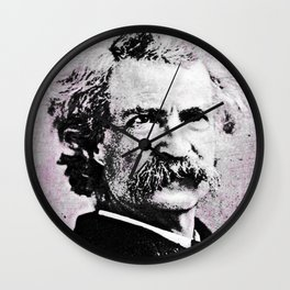Mark Twain Wall Clock