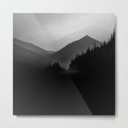 Dusky Mountains Metal Print