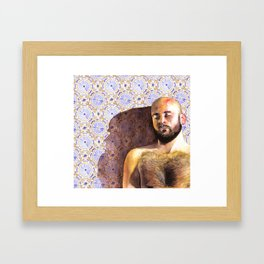 Carlos Fabric Framed Art Print