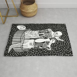 Chirico - Comedy and tragedy Rug