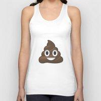 poop Tank Tops featuring Whatsapp - Poop by swiftstore