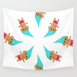 Feelin' Beachy - Troll Kid Wall Tapestry