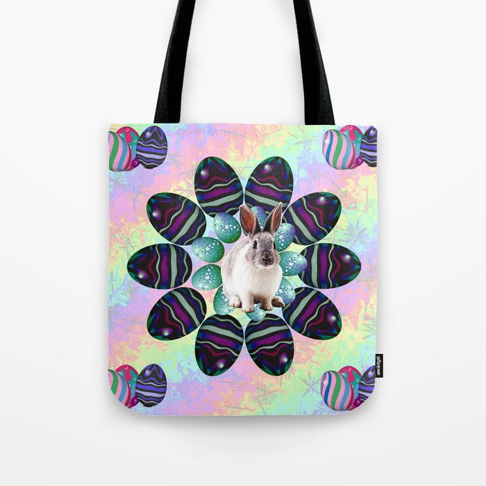 Easter Wreath Tote Bag