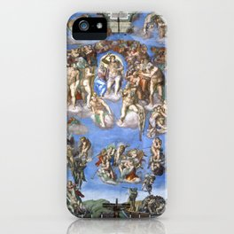 "Michelangelo ""The Last Judgment"" iPhone Case"